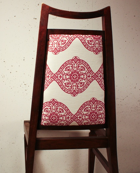 Upcycle: Discarded Restaurant Chair Reupholstery