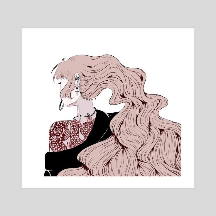 Snake Tattoos, an art print by Dirkann Channel