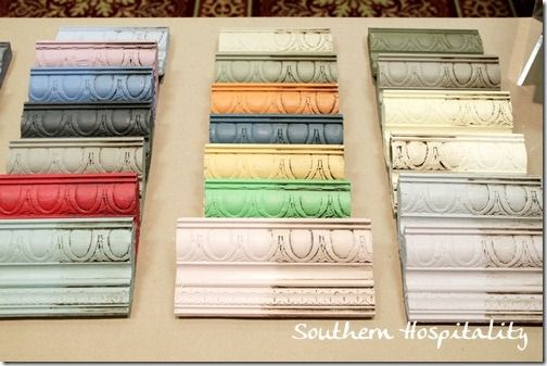 don't know if you are familiar with ANNIE SLOAN CHALK PAINT - oh, my - it is the greatest !! look at the gorgeous finishes !