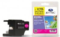 JetTec Brother LC-1220M Magenta Remanufactured Ink The Brother LC-1220M Magenta Remanufactured Ink Cartridge by JetTec - B1220M is a JetTec branded remanufactured printer ink cartridge for Brother printers. They provide OEM style quality printing but  http://www.MightGet.com/february-2017-3/jettec-brother-lc-1220m-magenta-remanufactured-ink.asp