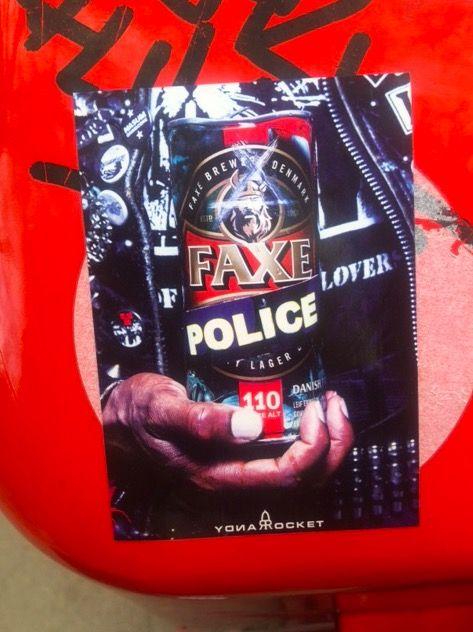 FAXE Police - Das Bier zum 1. Mai :D