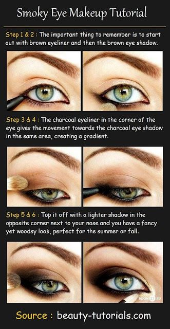 Smokey eye tutorial---I still never will be able to do this in any way that will be passable to wear in public…