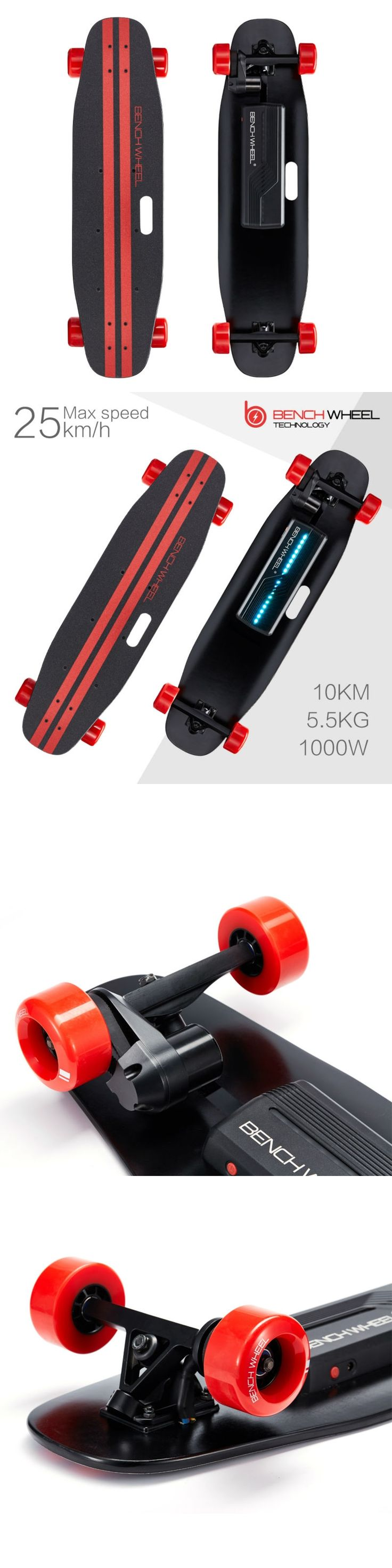 Hot Backfire Benchwheel Electric Skateboard Motor with 1000w electric motor penny board scooter skateboard Cyber Monday