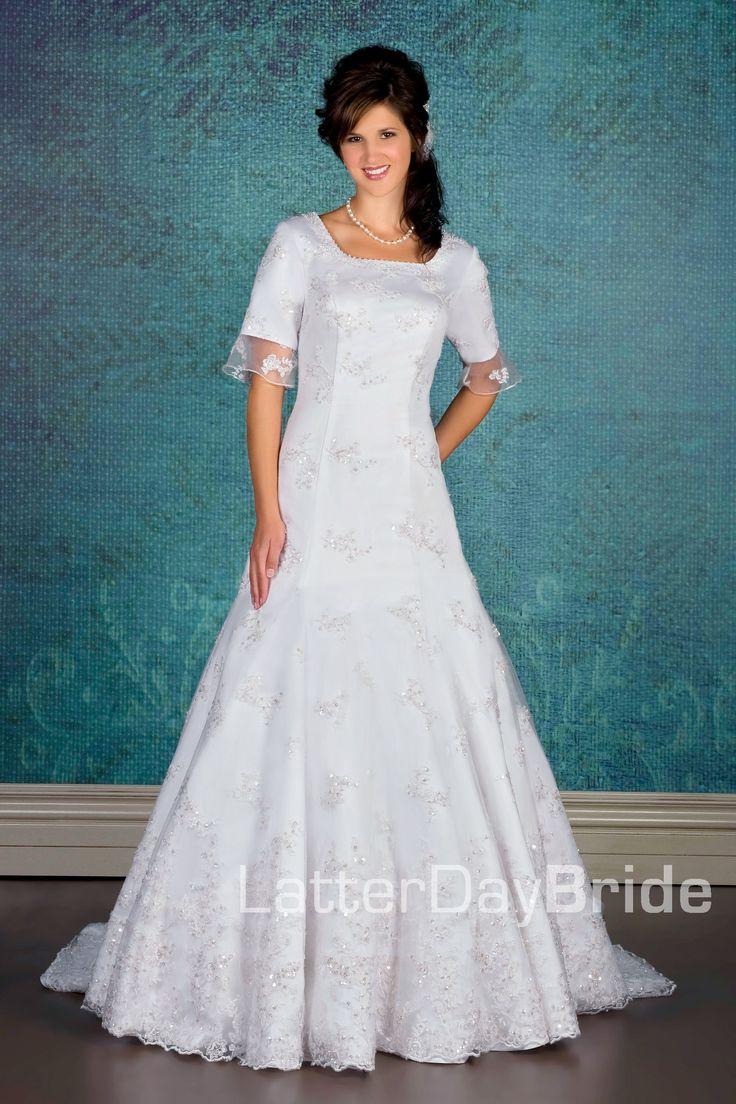 Modest Wedding Dress Rikof