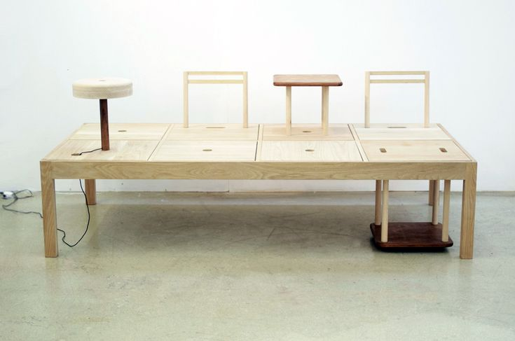 Badac Multi Purpose Furniture by Sang A Choi