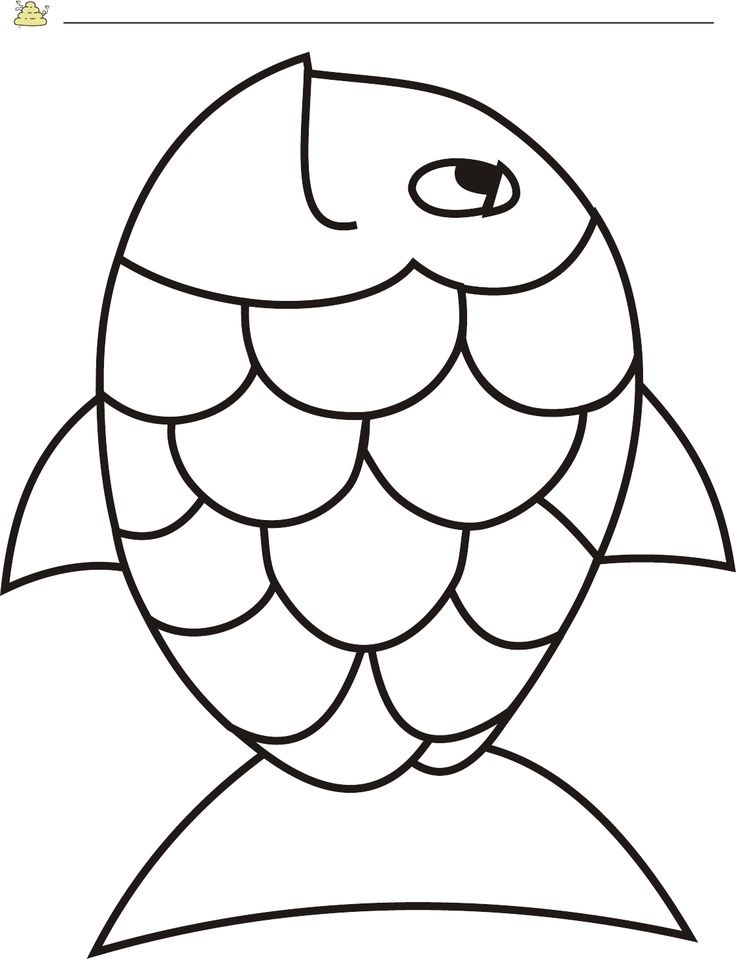 Free Rainbow Fish Template - PDF | 2 Page(s) | Page 2 More