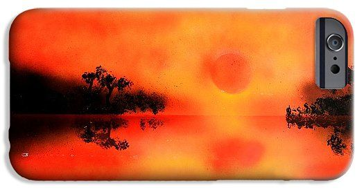 Printed with Fine Art spray painting image Joy Of The Sun by Nandor Molnar (When you visit the Shop, change the orientation, background color and image size as you wish)