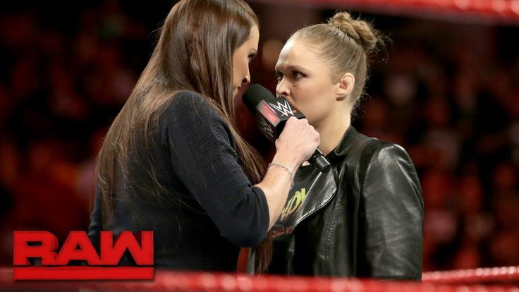 """Ronda Rousey demands an apology from Stephanie McMahon: Raw, Feb. 26, 2018  