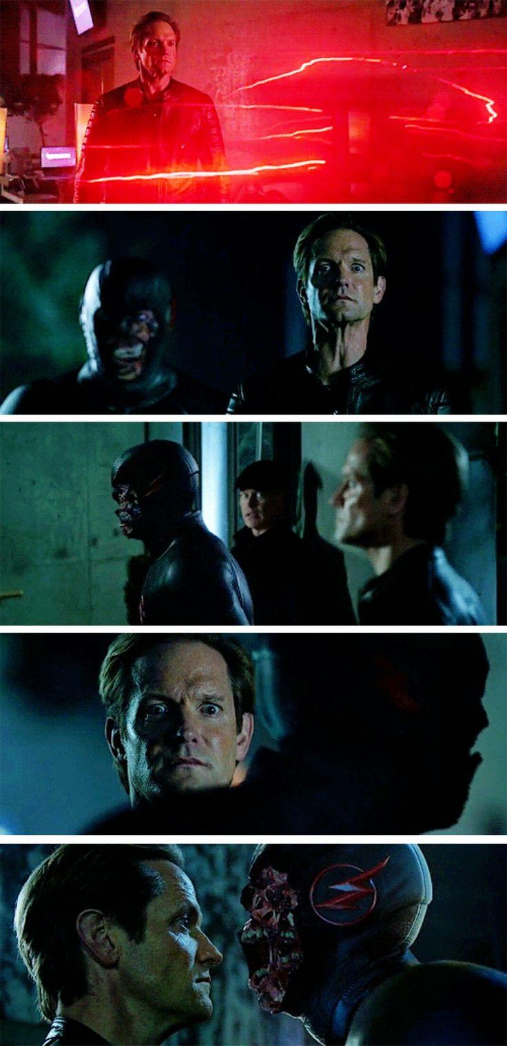 """Remember, as long as you stay still, he can't sense you."" #LegendsofTomorrow #Season2 #2x10"