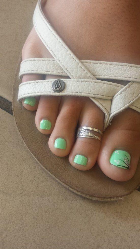 The 25 best mint nail art ideas on pinterest elegant nail art 45 cute mint nail art ideas for summer nail design ideaz prinsesfo Gallery