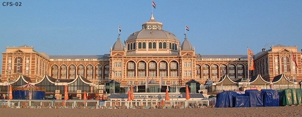 Kurhaus. Scheveningen. The Netherlands