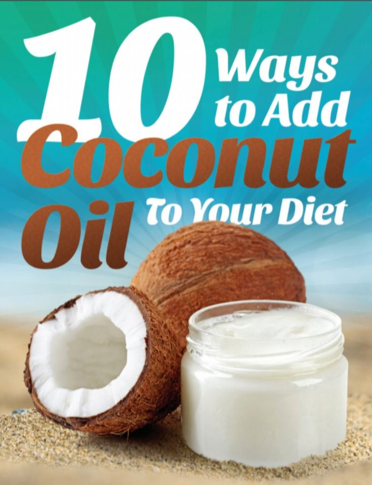 10 Ways To Add Coconut Oil To Your Diet - Fats That Fight Fat Learn 10 easy ways to add fat-burning coconut oil to your diet in this 31 page FREE report and recipe book… Today we're GIVING it away 100% FREE!