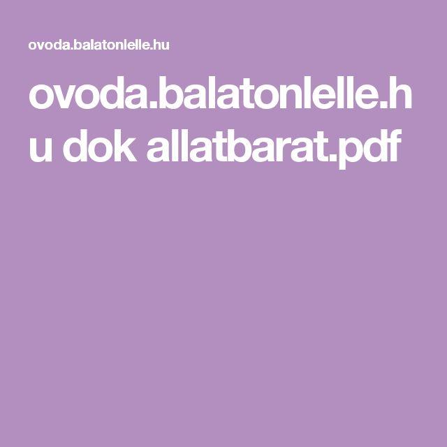 ovoda.balatonlelle.hu dok allatbarat.pdf