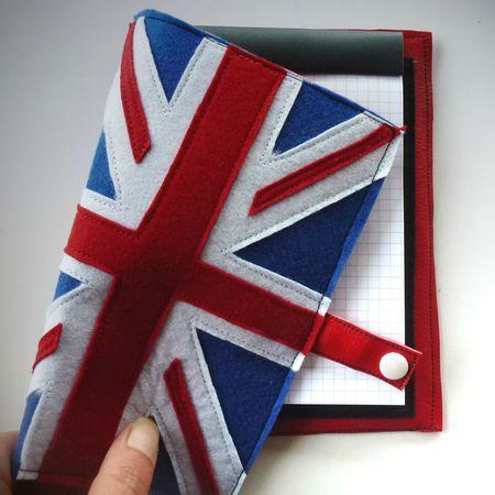 carnet drapeau anglais avec tuto