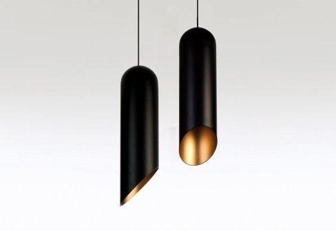 Tom Dixon: Pipe Pendant Light - pendant @ reception desk