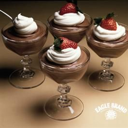 Creamy Chocolate Mousse from Eagle Brand®. For Brian:-)