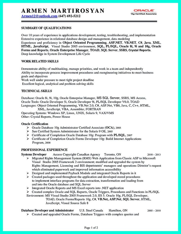 2695 best images about resume sample template and format on pinterest
