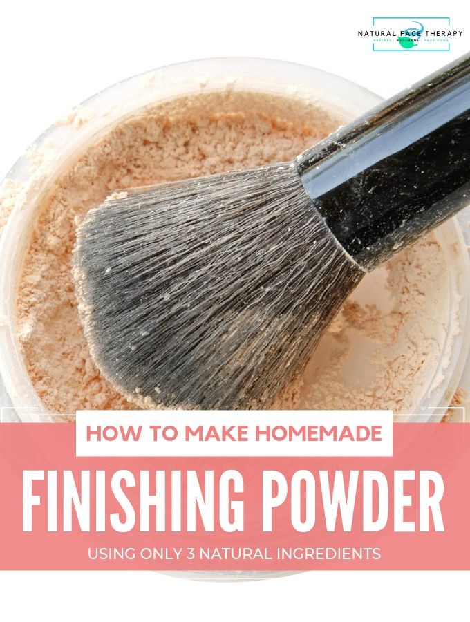How To Make Finishing Powder at Home