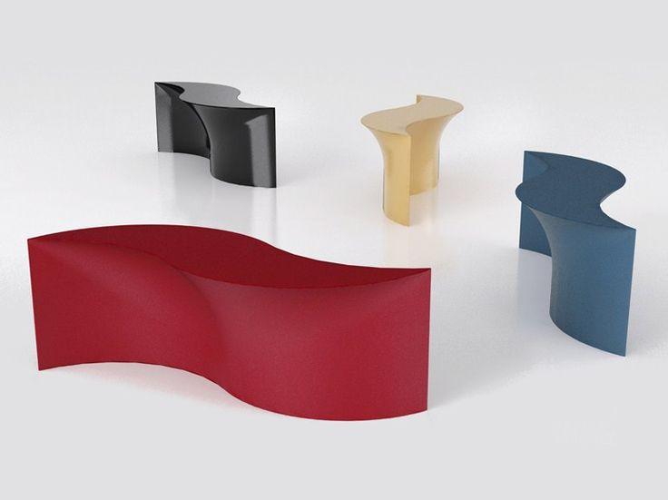 Aluminium console table MARIÙ by altreforme | design Aziz Sariyer