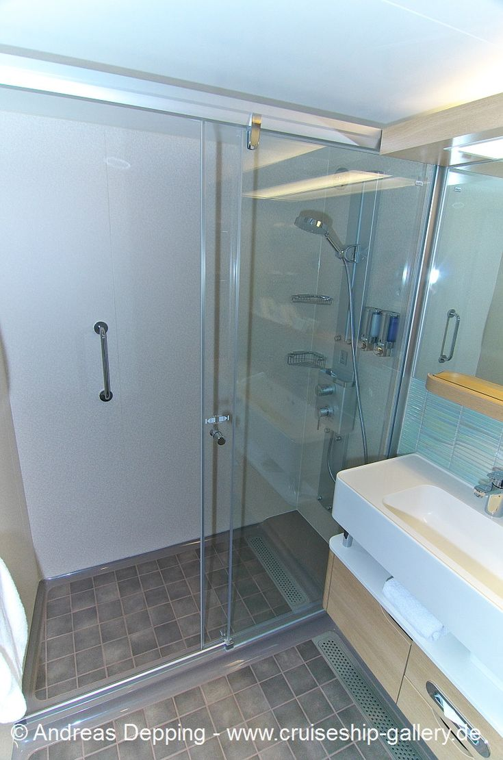 Norwegian getaway cabins bathroom my future cruise 2015 for What s new in bathrooms 2015