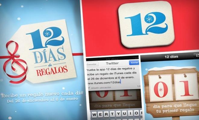 App 12 dias de regalos http://www.melodijolola.com/casa-y-jardin/app-del-dia-12-dias-de-regalos-de-itunes