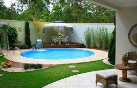 Resultado de imagem para piscina pequenas  de canto