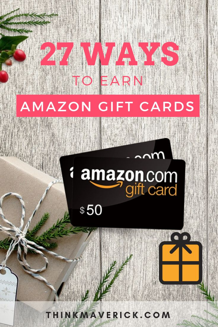33 proven ways to earn amazon gift cards every month
