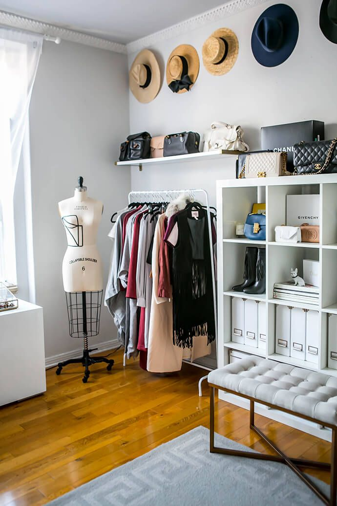 This dressing area || Touring The Home Of Margo & Me Founder, Jenny Bernheim