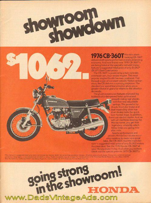 Vintage Motorcycle Sales 63