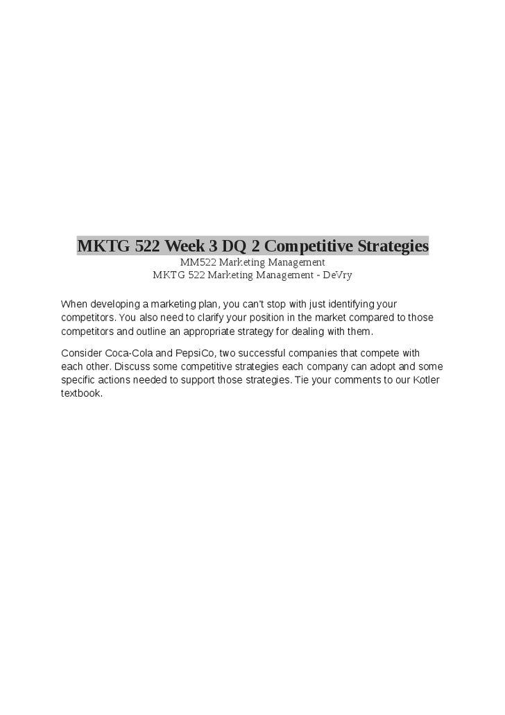 Category: MKTG 522