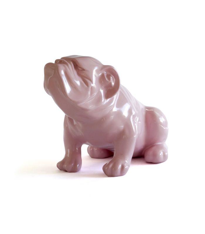 Statue Bouledogue Rose - Animal Décoratif en resine - 53 x 29 x 35 cm Description du modèle :Bulldog anglais, assis, couleur rose, verniCaractéristiques :Référence du modèle : ART114Marque : AnimartdecoDimensions : 53 x 29 x 35 cm (Longueur x hauteur x largeur)Poids : 4,20 Kg