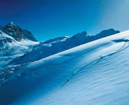 Foto-Kunstdruck: Prisma/Schuster (F1 Online), Piz Bernina, Skifahrer