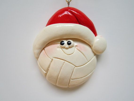 Personalized Volleyball Christmas Ornament by cyndesminis on Etsy, $7.00