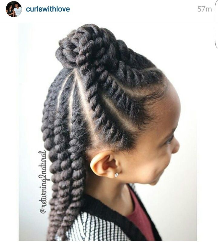 Flat Twist Updo #naturalhair #natural #hair #protective #protectivestyle #style #girl