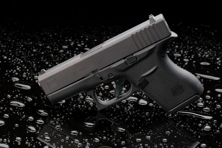 GLOCK 43. Our smallest pistol that still packs a big punch.