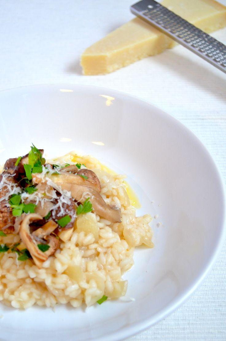 Risotto con Funghi - Uit Pauline's keuken !