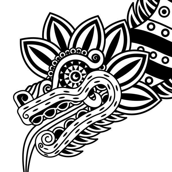die besten 25 aztekische tribal tattoos ideen auf