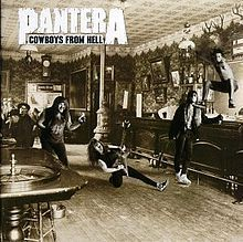 Cowboys from Hell is the fifth album by American heavy metal band Pantera released on July 24, 1990