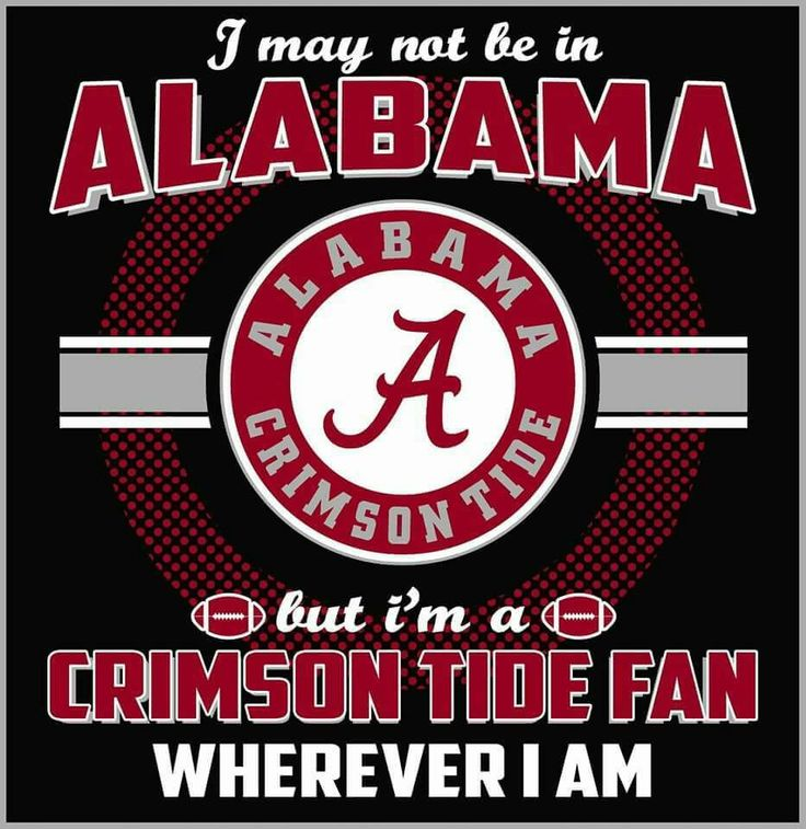 You got that right. Straight outta Tennessee. Grew up in an all Vols fan house. Alabama For llife. RTR