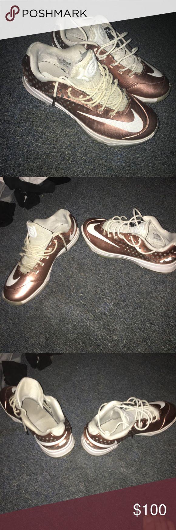 Selling this Nike KD 7 VII EYBL Copper Size 10.5 Copper on Poshmark! My username is: apassafiume1. #shopmycloset #poshmark #fashion #shopping #style #forsale #Nike #Other