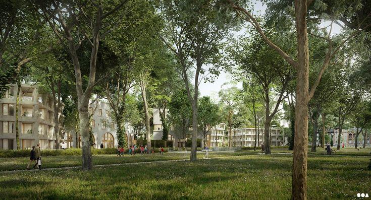 SOA Architects Paris > Projects > LE VESINET LOGEMENTS