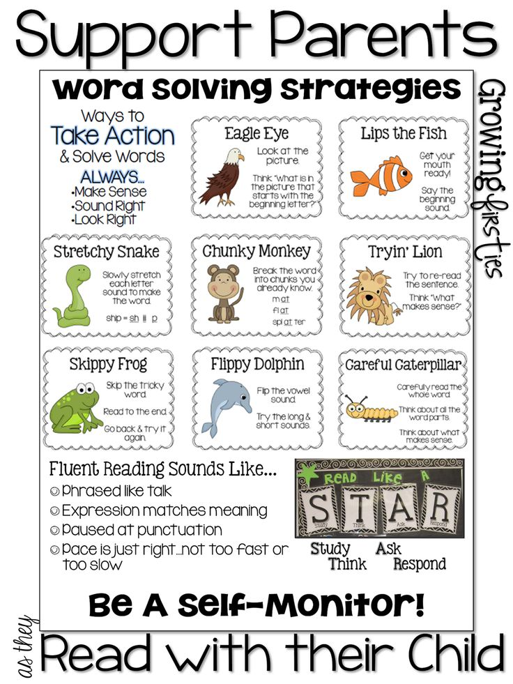 Some GREAT freebies to help parents support kids with their reading!