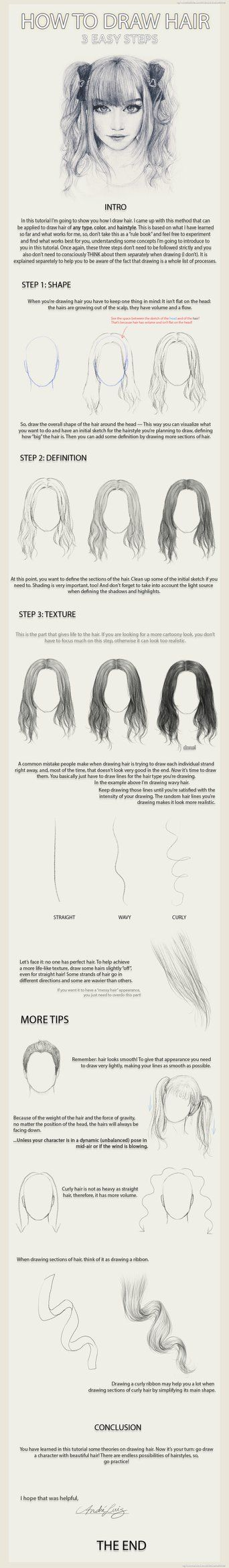 Hi everyone! Here's my approach on how to draw human hair, as requested by some people.  Sorry its a bit too long I hope it helps you out! I have never done a tutorial before, but maybe I'll d...