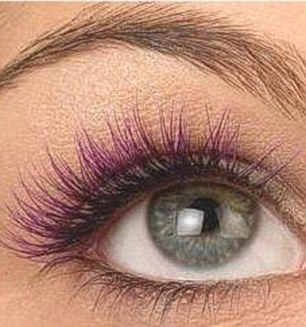 97 best images about Colorful eyelashes on Pinterest #2: d95fe84e875ea34ea1c98e61a4