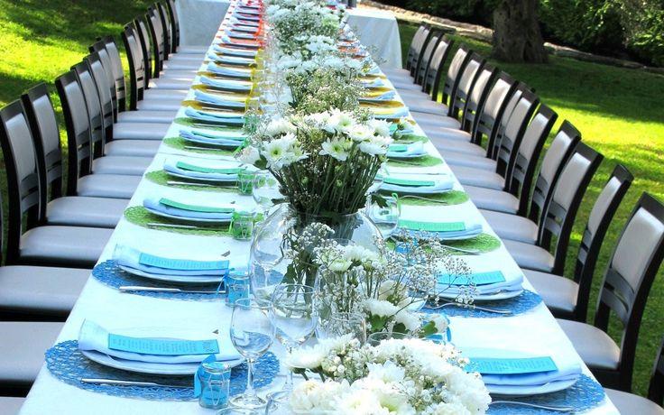 La Wedding Planner Greta Sagona ha realizzato e curato personalmente l'intera mise en place di questo Rainbow Wedding, dalla scelta del tavolo imperiale, alla realizzazione dei centrotavola i…