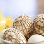 6 Idee per Decorare le Uova di Pasqua all'Uncinetto