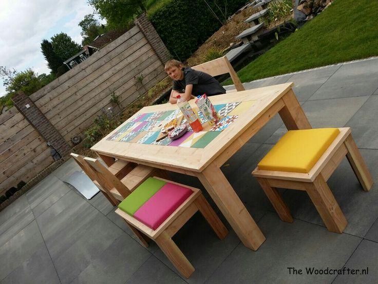Douglas Garden Furniture And Portugese Tiles