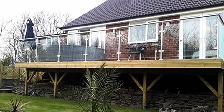 Our customers have excellent taste, especially in #balconies framing off their balcony with the professional #balustrade system.