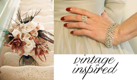 Bouquets & Nails {Wedding Inspiration} - Storkie Blog