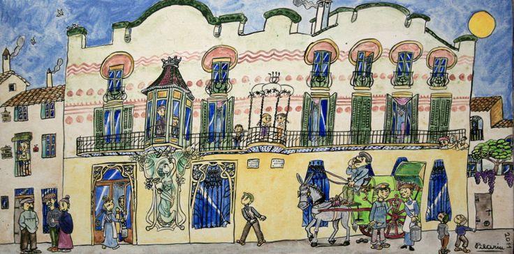 Casa-Blanxart, Pilarín Bayés.